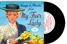 "GORDON FRANKS ORCH. - MY FAIR LADY - 8 TRACK EP 7"" 45 VINYL RECORD PIC SLV"