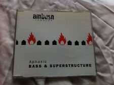 Bass & Superstructure: Aphasic - 6 track breakcore CD single (Ambush, 2000)