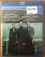 Matrix Reloaded and Revolutions movies English and French Blu-ray Dvd New Sealed