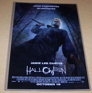 Halloween 2018 Michael Myers 11X17 Teaser Movie Poster 40 years later Myers