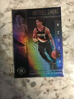 2019-20 Panini Illusions Black Sapphire Parallel ANFERNEE SIMONS *MINT*
