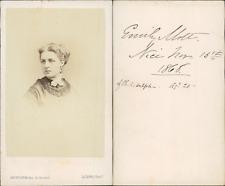 Levitsky, Paris, Emilie Vintage CDV albumen carte de visite CDV, tirage