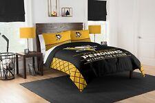 Pittsburgh Penguins King Bedding (Comforter & Shams) Official Nhl