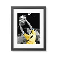 Frank McLintock Signed Arsenal 1971 FA Cup Photo ArsenalAutograph Memorabilia