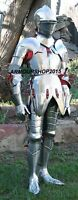 Armour 6 Feet Wearable Medieval Knight Full Suit of Armor LARP Costume Replica