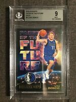 2018-19 Luka Doncic NBA Hoops Holo Faces Of The Future BGS 9 Mint Rookie RC 🔥🔥