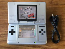 Nintendo DS Original Silver Handheld Console Bundle +51 Games & Charger