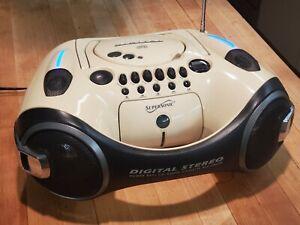 Rare & unusual Vintage Boombox digital stereo design concept, Supersonic SC1000