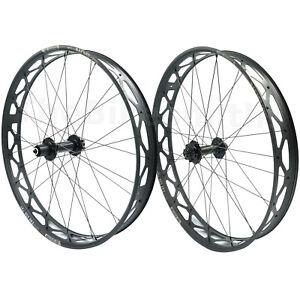 "Sun Ringle MULEFUT V2 26"" 150mm Thru-Axle 190mm QR Fat Bike Front Rear Wheelset"