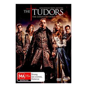 The Tudors: Season 3 DVD (3 Disc Set) Brand New Sealed Region 4 - Free Post