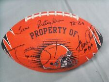 Cleveland Browns, Signed Browns Orange Football, Rutiglianio, Pruitt & Dixon