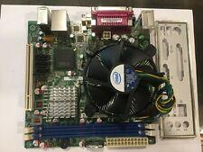 Intel DG41MJ Mini-ITX MB,Xeon E5440 2.83GHz 4 Core CPU,I/O Shield,Tested,AS IS