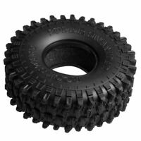 "120mm Rubber Tire Tyre for 1.9"" Axial SCX10 D90 TRX-4 1:10 RC Crawler Car Wheels"
