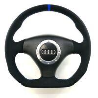 Audi A3 S3 A6 C5 TT 8N0 custom Flat Bottom steering wheel  ! ALCANTARA SPA !