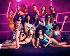 Alison Brie Betty Gilpin GLOW TV Cast Wrestling Netflix 8x10 Wrestler WWE Women