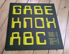 GABE KNOX - ABC  lp polytechnic youth yellow vinyl