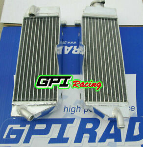 New aluminum radiator for yamaha yzf400 yz400f 98-00 1998 1999 2000