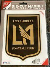 DIE-CUT MAGNET - INDOOR  OUTDOOR - LAFC - Los Angeles Football Club