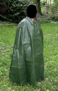 Regencape PVC Gummi Rubber Cape Poncho Raincoat Friesennerz Regenmantel Mantel