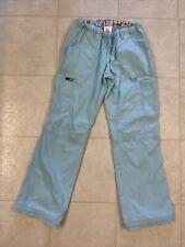 New listing Koi Lindsey Cargo Scrub Pants Blue Sz Xs