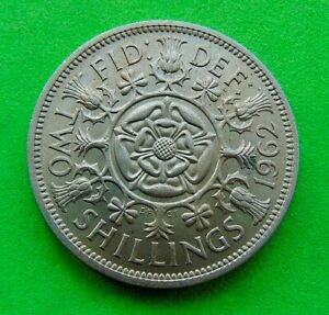 2  MINT  STATE  *1962/66*  FLORINS  2/- ...LUCIDO_8  COINS