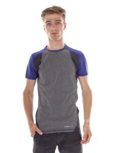O`Neill Functional Shirt Nicki Hybrid o'Neill Blau Slim Fit Colourblock