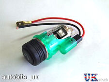 Green Cigarette lighter cigar PLUG & SOCKET FOR VW Golf Passat mk2 mk3 mk4 Polo