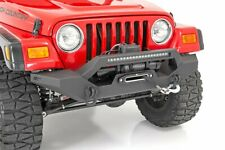Rough Country Full Width Front LED Winch Bumper fits Jeep 87-06 Wrangler YJ/TJ