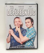 DVD De Père en Flic (Father and Guns) French English Subtitled, 2 DVD