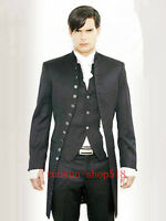 Wedding Dress Men's Formalwear Wedding Morning Suits Groom's Tuxedo Custom NE001