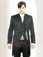 Wedding Dress Men's Formalwear Wedding Morning Suits Groom's Tuxedo Custom NE001