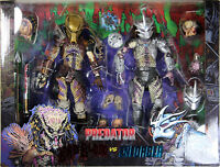 Predators ~ ULTIMATE BAD BLOOD vs. ULTIMATE ENFORCER ACTION FIGURE SET ~ NECA