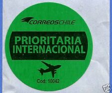 CHILE, OFFICIAL CORREOSCHILE UNUSED POSTAL STICKER # 04