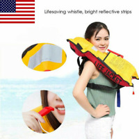 Life Jacket Swiming Life Vest TPU Waterproof Durable Inflatable Top Rescue Vest