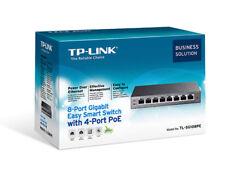 TP-LINK TLSG108PE 8 Ports Standalone Gigabit Ethernet Switch