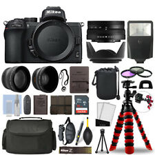 Nikon Z50 Mirrorless Camera with 16-50mm VR + 16GB 3 Lens Ultimate Accessory Kit