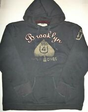 Brooklyn Embroidered Gray American Rag Hoodie size XL