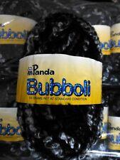 PANDA BUBBOLI knitting yarn Col 801 Lot 711306 - boucle yarn, 11 balls total