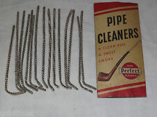 VINTAGE TOBACCO ROCHESTER PIPE CLEANER CO NY  PERFECT PIPE CLEANERS IN BOX