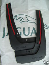 Jaguar XF Mudflap Set Front Splash Guard Genuine for Saloon & Sportbrake C2Z7889