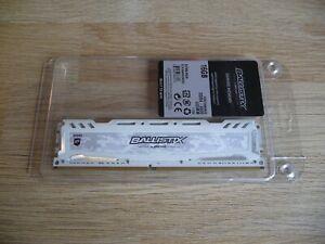 Crucial Ballistix Sport LT 16 GO DDR4 3000 MHz CL15 Blanc BLS16G4D30AESC Art n°2