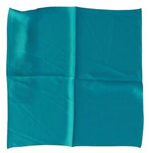 DOLCE & GABBANA Scarf Silk Square Blue Bandana Handkerchief 35cm x 35cm RRP $150