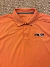 Men's Ping Medium Orange Polo Shirt Great Condition