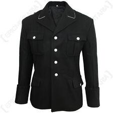 German Army Elite Black M32 Officers Tunic - WW2 Wool Repro Uniform Quality New
