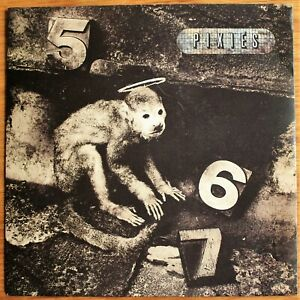 """THE PIXIES Monkey Gone To Heaven / Manta Ray UK 7"""" 4AD AD 904 NM/EX 1989"""