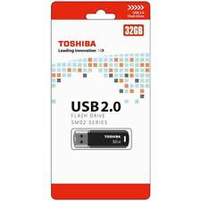 Toshiba 32GB USB 2.0 Flash Drive - Series SM02 RANDOM COLOUR