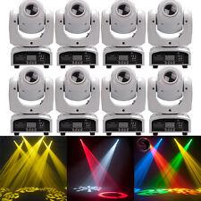 8PCS 30W RGBW Gobo Spot LED Moving Head Stage Light DMX Disco DJ Bar Party Light