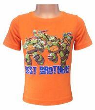 T-shirts, débardeurs et chemises orange avec manches courtes pour garçon de 2 à 16 ans