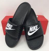 Women's Nike Benassi JDI Size 11 Black/ White