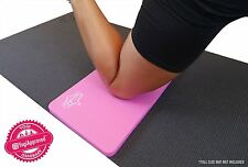SukhaMat Yoga Knee Pad Mat Cushion (Pink) - Alleviate Yoga Knee Pain - 50% OFF!